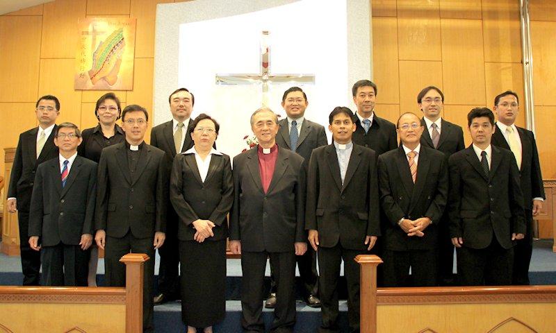 Pengurus Gereja Periode 2012-2015
