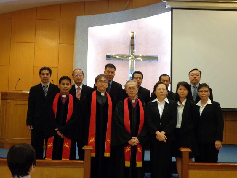 Pengurus Gereja Periode 2015-2018